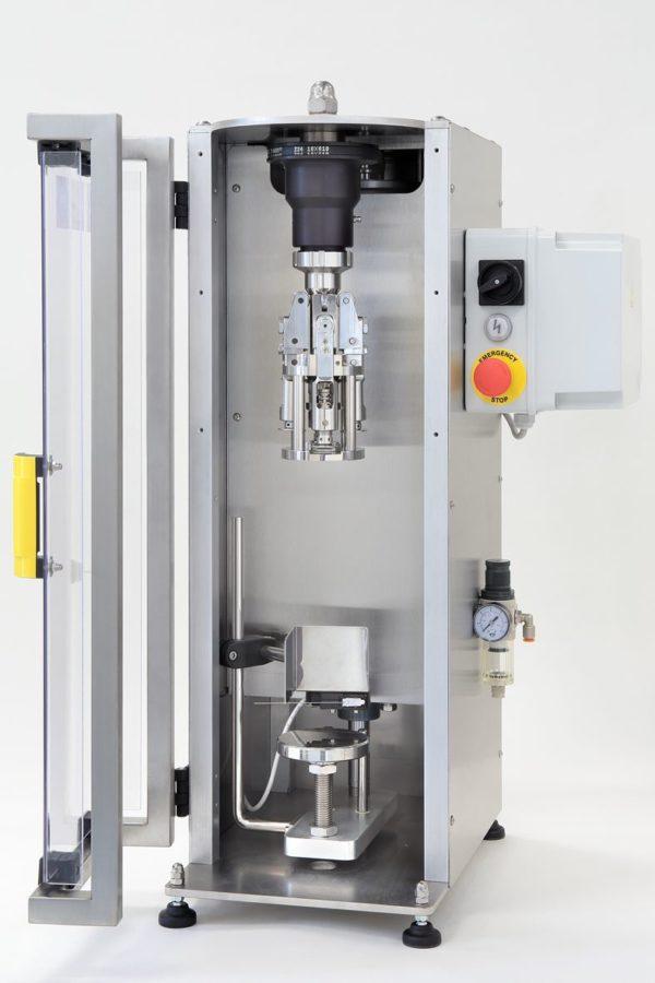 Tapadora Screw Cap Semi automática
